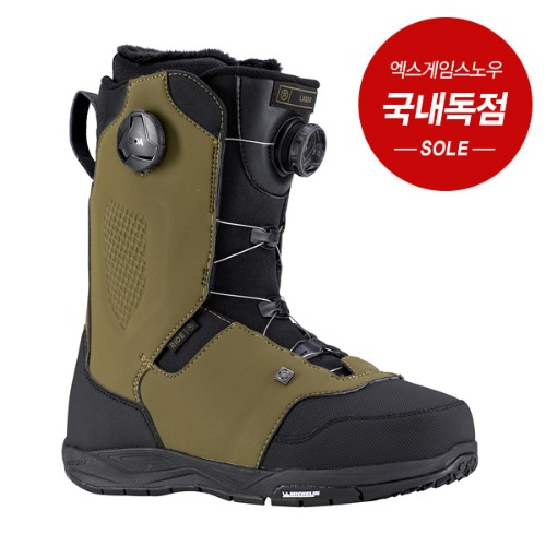 1819 RIDE LASSO BOOTS ARMY 라이드 라쏘 보아부츠